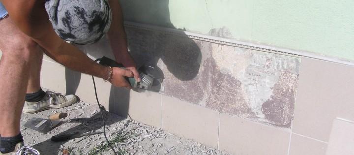 Oprava fasády rodinného domu