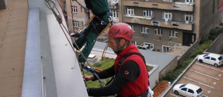 Horolezecká technika výškových prací Praha
