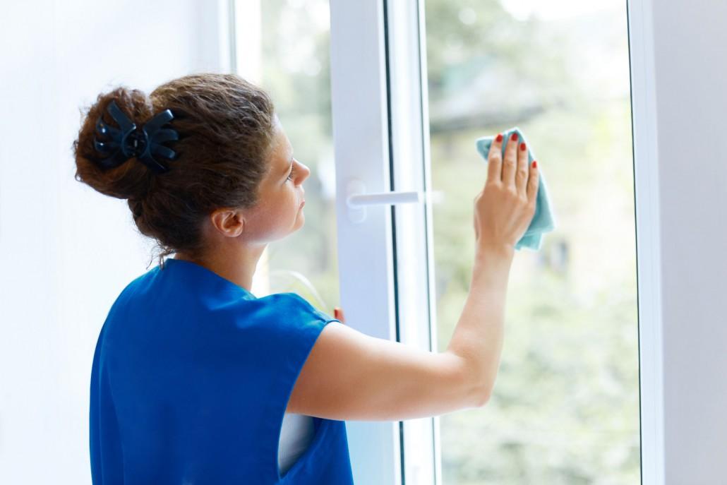 dokonale umytá okna